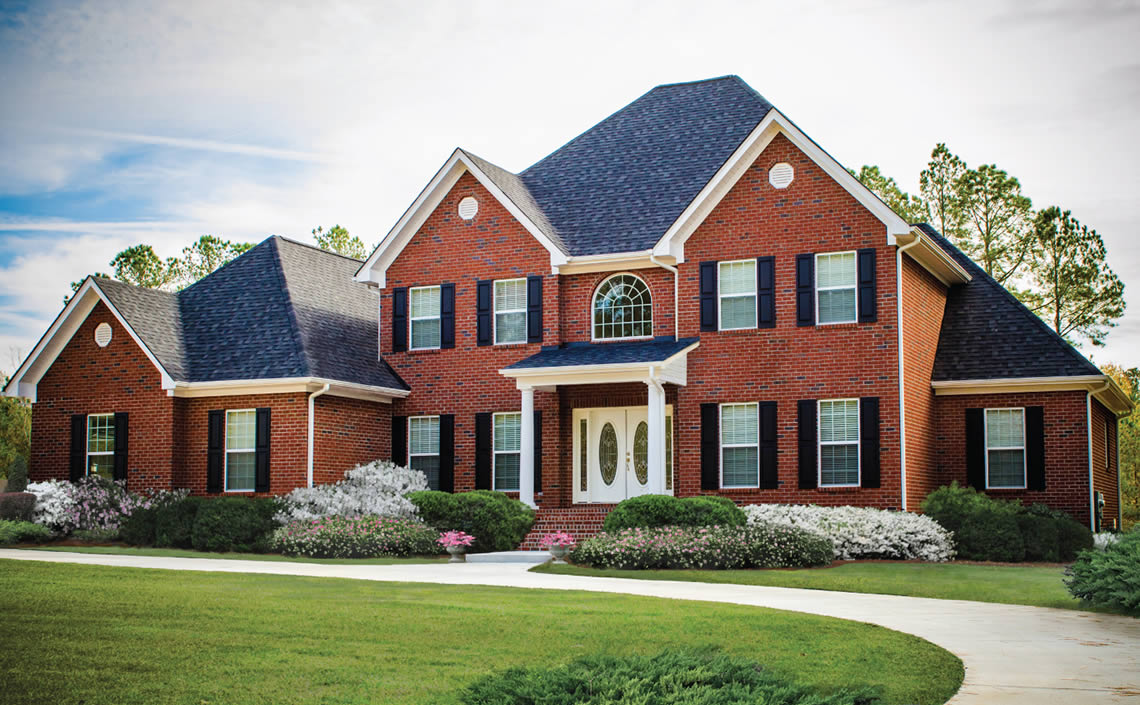 строительство красные дома
